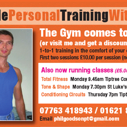 Personal Training with Phil., Colchester, Essex