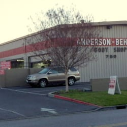 Anderson behel body shop auto repair north san jose for Academy for salon professionals santa clara