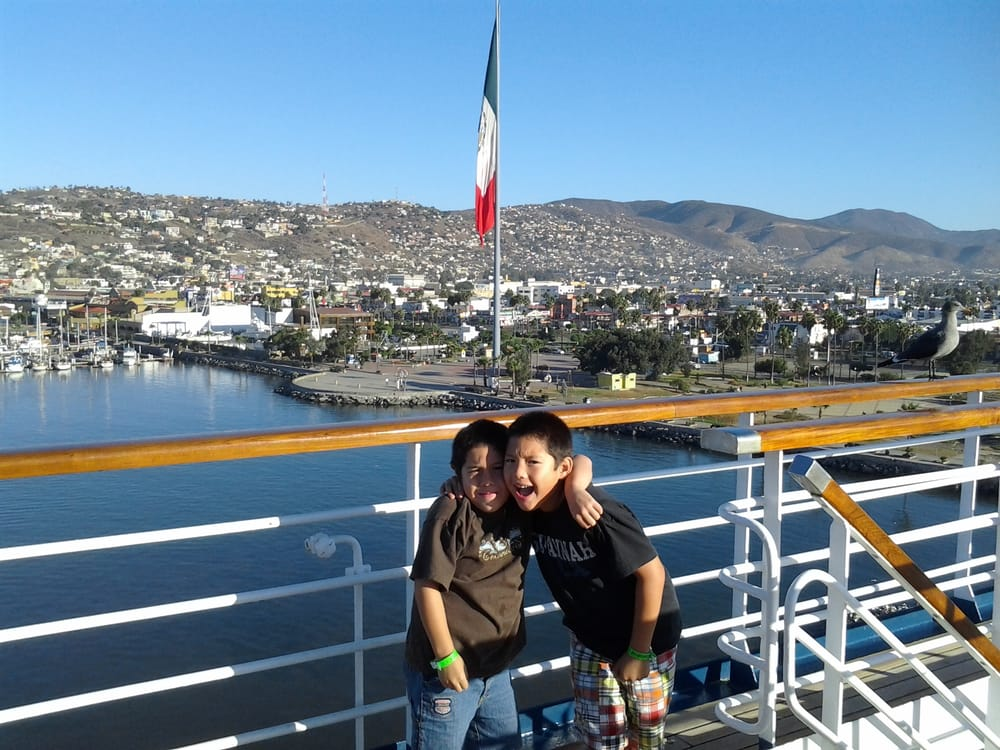 My Babies On The Carnival Paradise At The Ensenada Port  Yelp