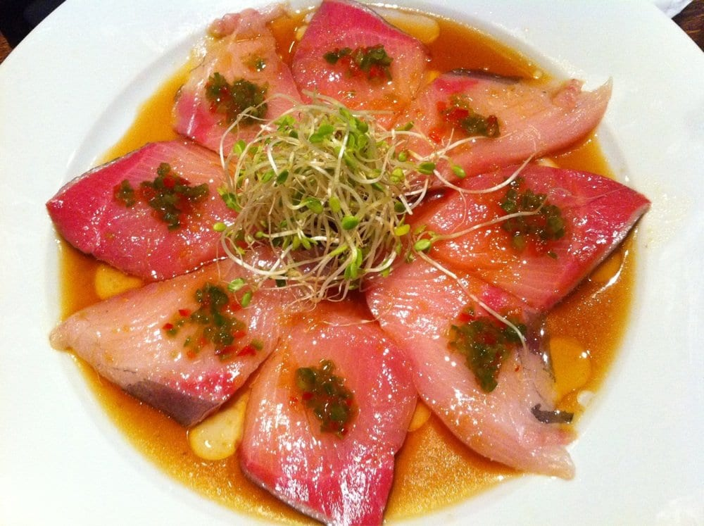 ... and hamachi carpaccio no recipes hamachi carpaccio at izakaya sozai