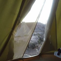 Moab Under Canvas - Inside looking out. - Moab, UT, Vereinigte Staaten