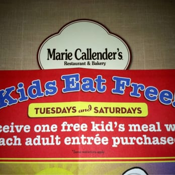 Kids Eat Free and Kids Meal Deals at Marie Callender's in Auburn California on trueffil983.gq Blog Home Add a Restaurant Newsletter Contact On any day Sunday Monday Tuesday Wednesday Thursday Friday Saturday.
