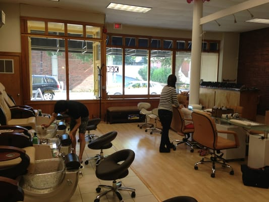 la vie nail salon porter square cambridge ma united
