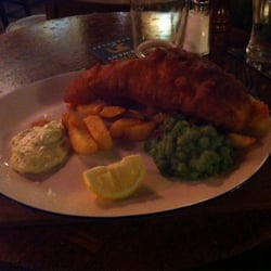 Fish & Chips (with mushy peas)