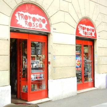 Profondo rosso negozio roma