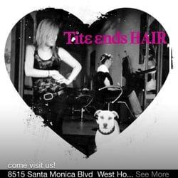 Tite Ends Hair Salon - West Hollywood, CA, Vereinigte Staaten