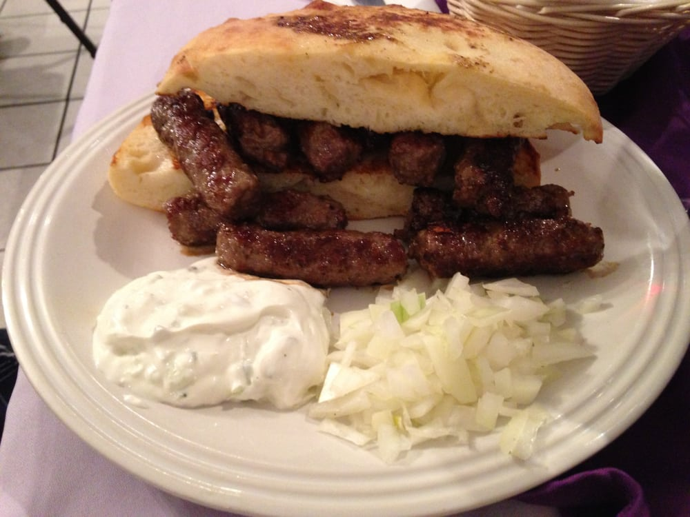 ... - Tucson, AZ, United States. Cevapi - Bosnian Style Sausages