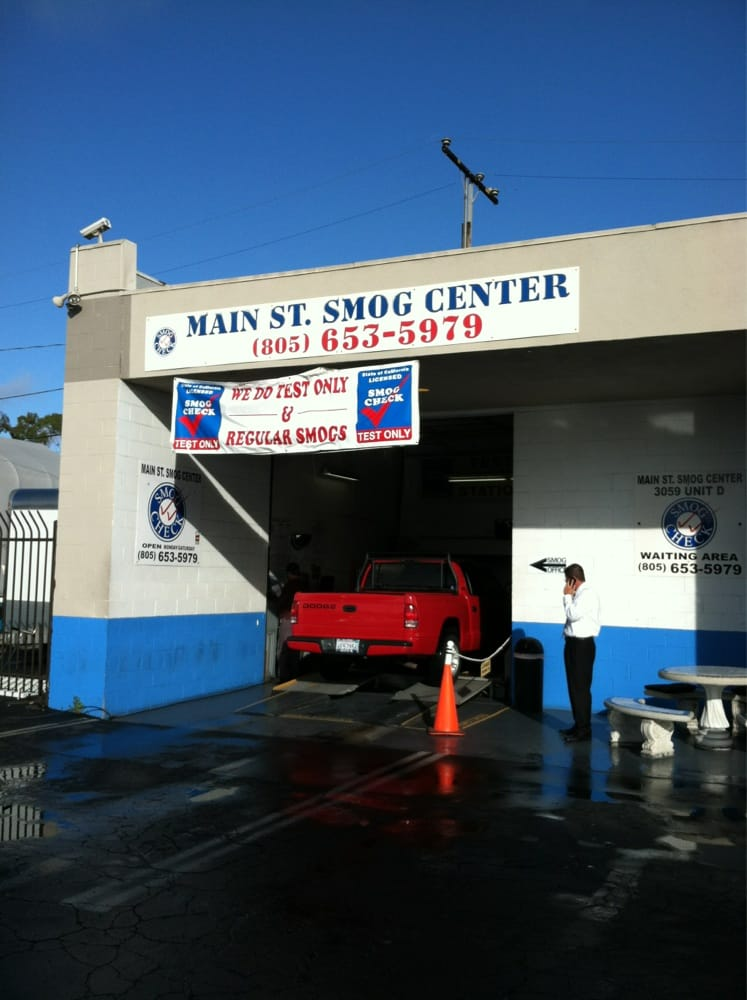 Main Street Smog Test Only Center Motor Vehicle Inspection Testing 3059 E Main St