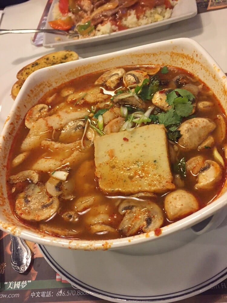 Spicy Thai Noodle Soup Thai Spicy Seafood Rice Noodle