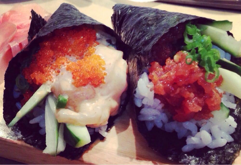 Spicy Tuna Scallop Sushi Roll Recipes — Dishmaps