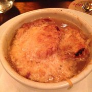 (French) Onion Soup (pipping hot, but…