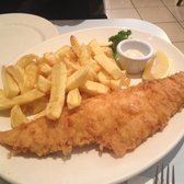Large Haddock n' chips