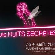 Festival Les Nuits Secrètes, Aulnoye-Aymeries, Nord, France