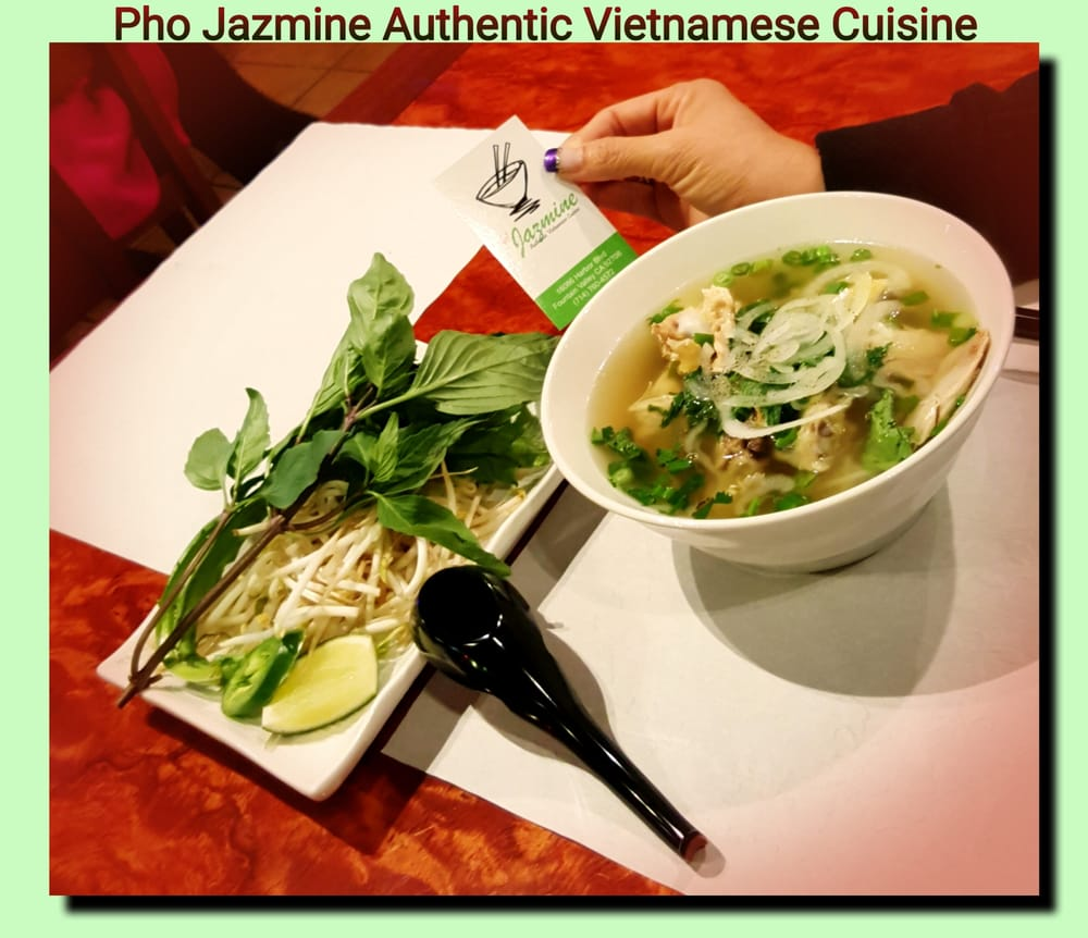 Pho jazmine authentic vietnamese cuisine vietnamese for Authentic cuisine