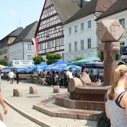 Marktplatz, Günzburg, Bayern