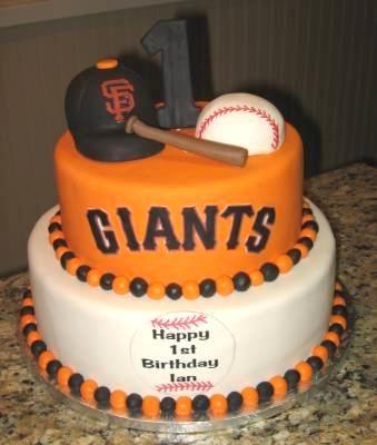 Sf Giants 1st Birthday Cake Yelp