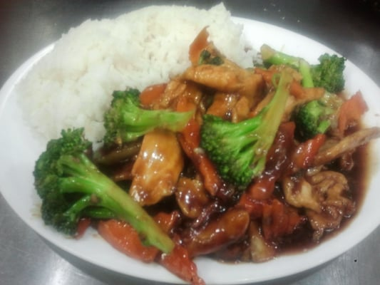 Chinese Food Chicken And Broccoli Chicken With Broccoli Chinese