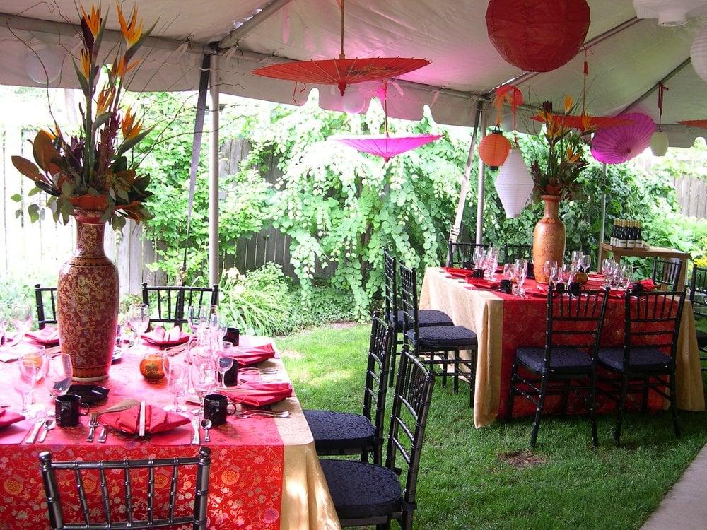 Garden Party Setup Garden Party Setup