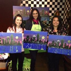 paint nite 28 photos paint sip dallas tx