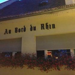 Restaurant Au Bord Du Rhin, Lauterbourg, Bas-Rhin, France