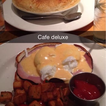 Cafe Deluxe Menu Tysons