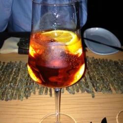 Campari - white wine