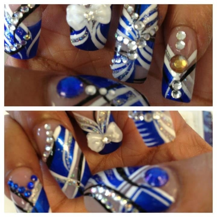 sea top nails