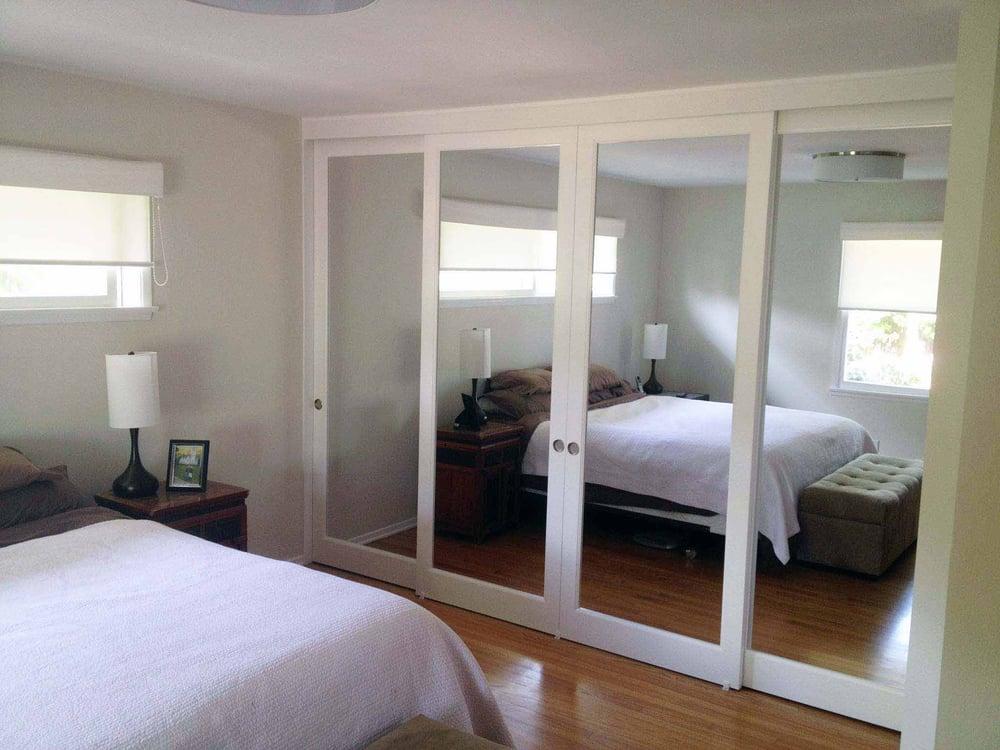 Closet Doors Mirrored Sliding Glass Doors Yelp