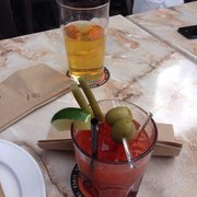 Steamworks Brewing Company - Beer & Bloody Mary - Vancouver, BC, Kanada
