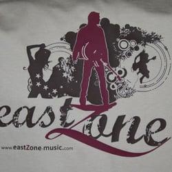 Druckbeispiel: eastZone Music, Flex,…
