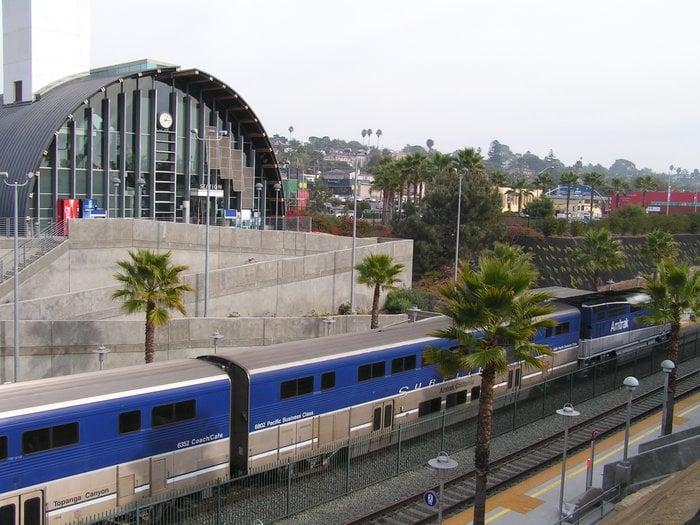 Solana Beach Train Station California Solana Beach Amtrak Station