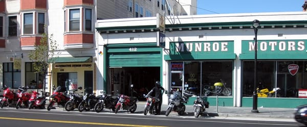 munroe motors mission san francisco ca verenigde