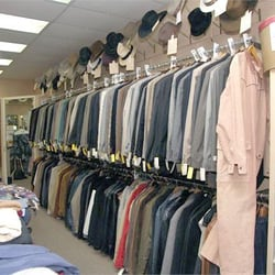 Men's Designer Clothing Resale Consignment Store For Men