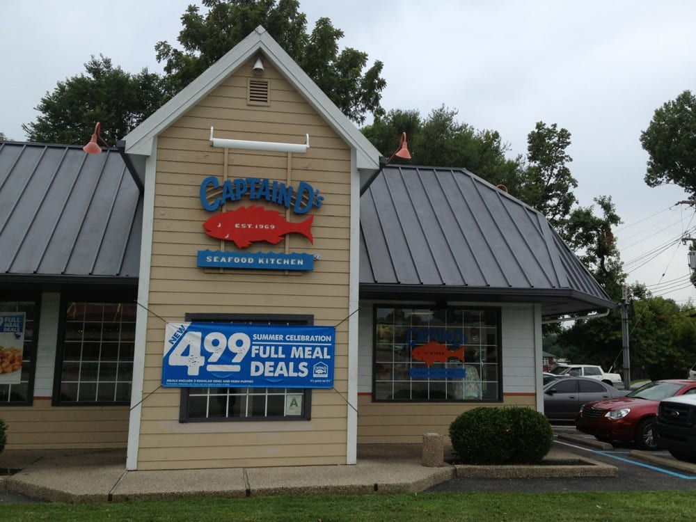 Captain d s seafood seafood restaurants hikes point for Fish restaurants louisville ky