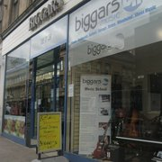 Biggars Music Shops, Glasgow