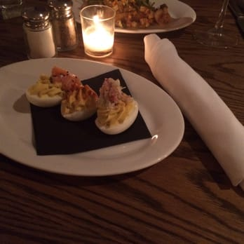 Home 231 - Harrisburg, PA, United States. Trio Deviled Eggs: Salmon ...