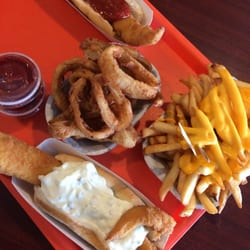 Ted s fish fry 30 foto fish chips 203 wolf rd for Ted s fish fry menu