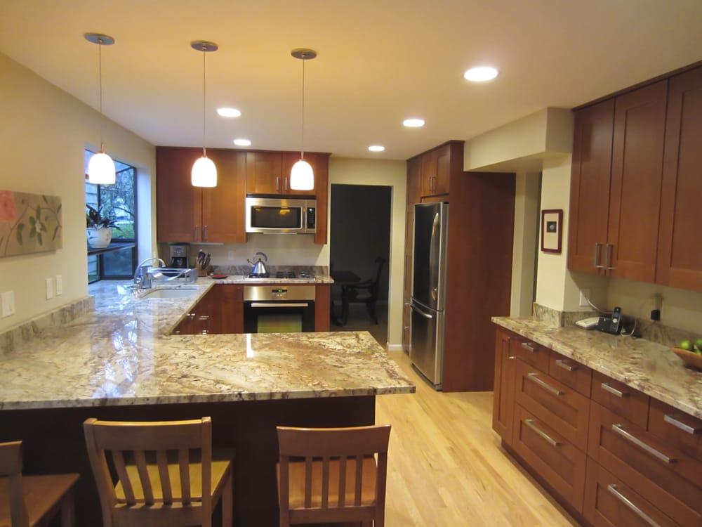 Full Kitchen Remodel In Bellevue Wa Ikea Cabinets Yelp