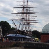City Cruises - This is the Cutty Sark, docked in Greenwich - London, United Kingdom