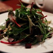 Pear, fennel and rocket salad