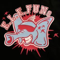 Druckbeispiel:E.L.E.FUNs, Flex, 3-fabrig