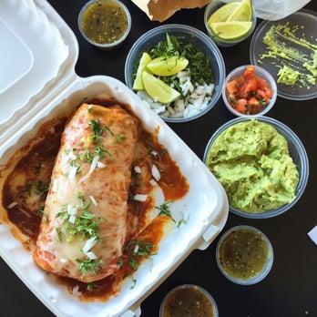Baja Fish Tacos Santa Ana Ca United States Carne
