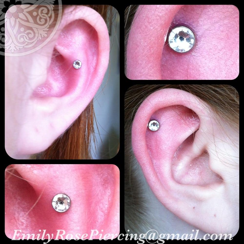 how to fix pierced ear hole