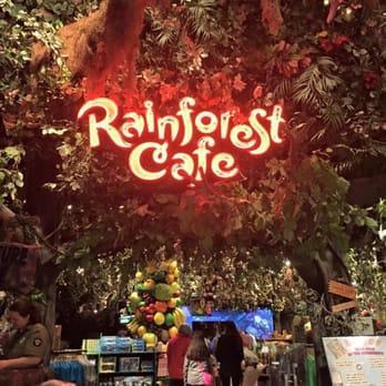 Rainforest Cafe Menu Auburn Hills