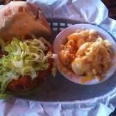 Dirty Birds - Blue Bird chicken sandwich w/ mac & cheese - San Diego, CA, Vereinigte Staaten