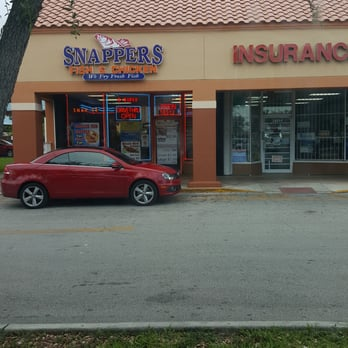 Snappers fish and chicken fish chips 18312 nw 7th for Snappers fish chicken