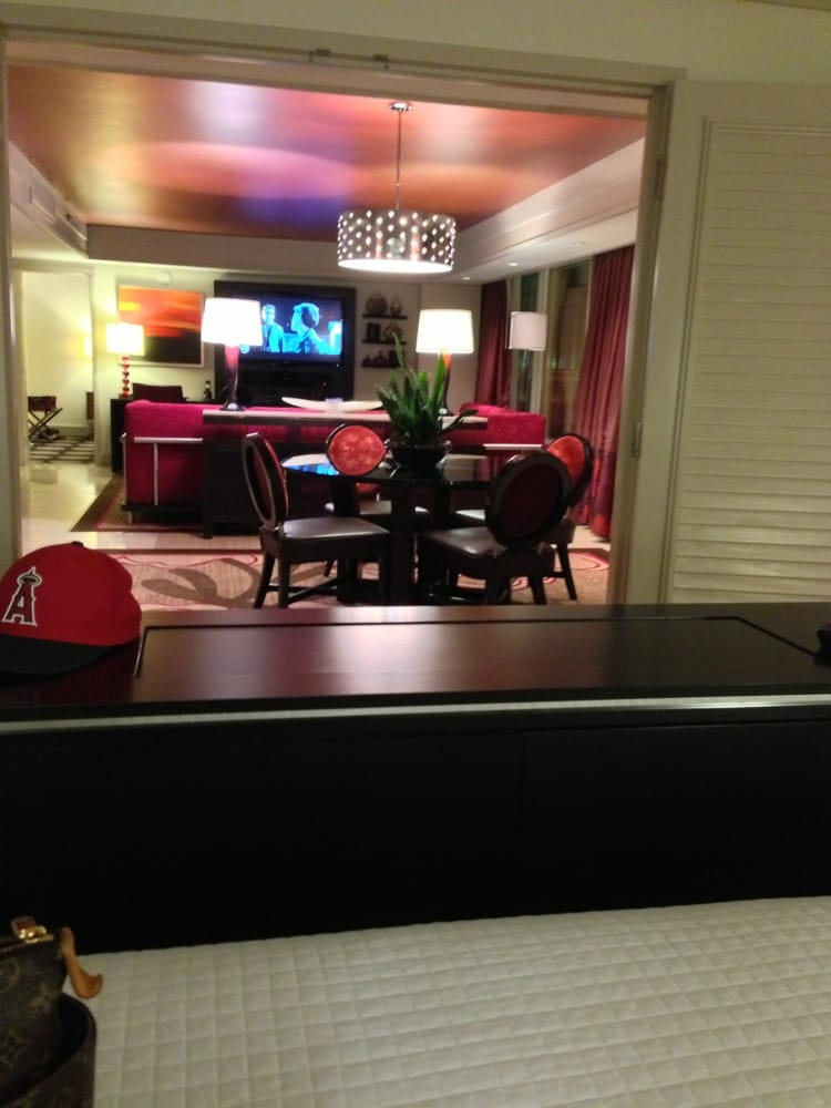 the mirage las vegas nv united states two bedroom suite view of
