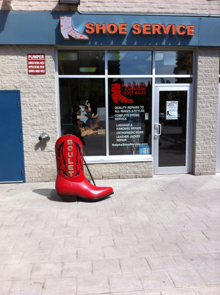 shoe repair store nearby