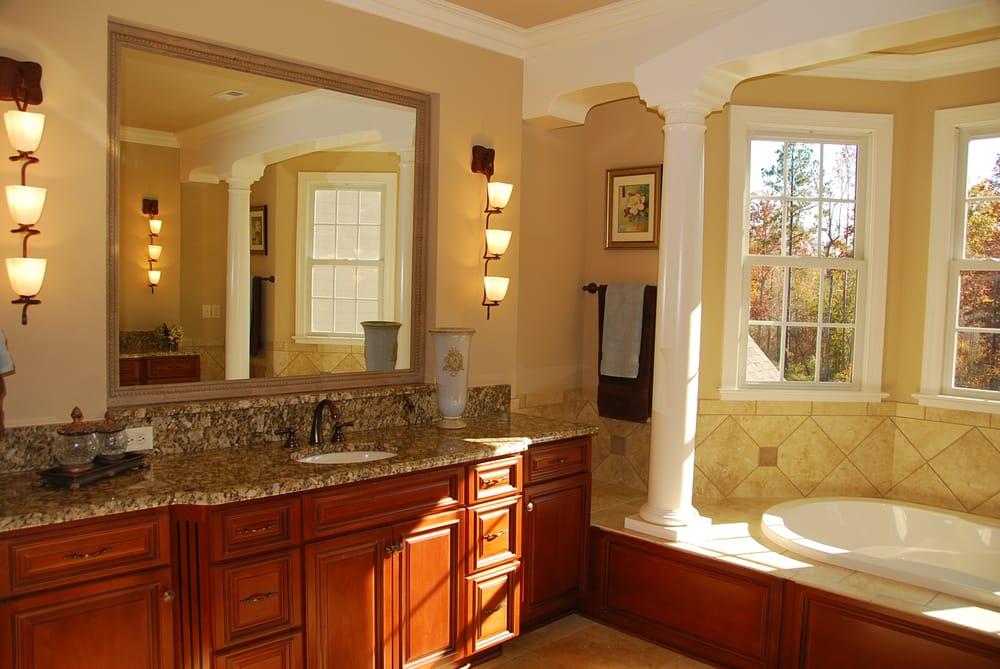 Cabinets  Austin, TX, United States. Lenox Mocha Bathroom Vanity