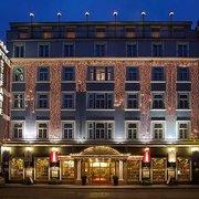 Das Hotel Stefanie im 2. Bezirk Wiens…
